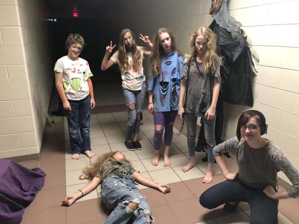 Haunted Hallways Zombies 10.19.18